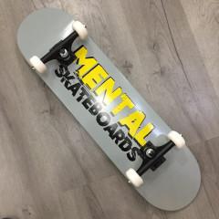 """Скейтборд Mental Skateboards Grey 8.0"""""""